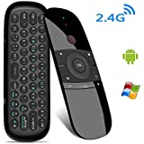 Smart Remote Replacement,Mini Wireless Fly Air Mouse Remote with Keyboard for PC,Computer,Mac OS,Linux,HTPC,IPTV,Google Android Smart TV Box and Media Player,USB Rechargeable Li-ion Batter
