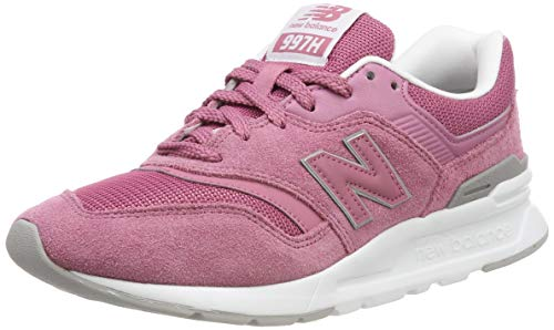 New Balance Women's 997h V1-Sneakers, Mineral Rose/White, 7 B US
