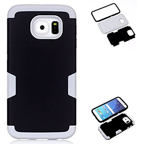 AMCHOICE(TM) Galaxy S7 Case,S7 Case, 3 in 1 Style Combo Bumper Protective Back Case for Samsung Galaxy S7 (Stylus,Screen Protector)(Black+Gray) Sales
