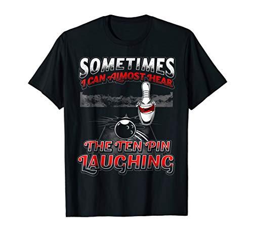 Hear 10 Pin Laughing Funny Bowling Shirt (Bowling Shirt Classic)