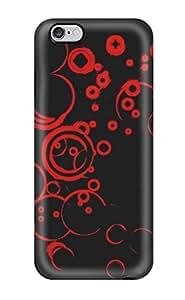 New Black Red Tpu Case Cover, Anti-scratch BreakFree Phone Case For Iphone 6 Plus