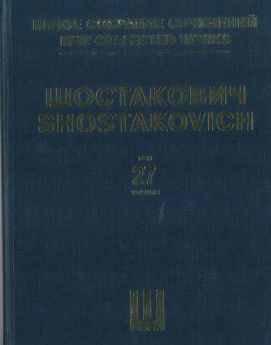 """Download Novoe sobranie sochineniy. Tom 27. Simfoniya â""""– 12. Perelozhenie avtora dlya fortepiano ebook"""