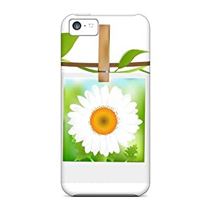 Awesome Rembrance Of Summer Flip Case With Fashion Design For Iphone 5c