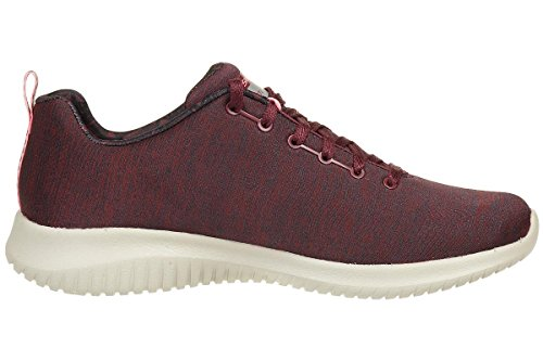 Bordeaux Choice Ultra Flex Formateurs Femme First Skechers qHAYq