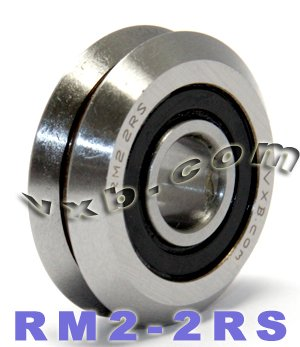 RM2-2RS-38-V-Groove-Guide-Bearing-Sealed-Ball-Bearings