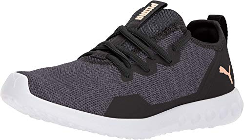 PUMA Women's Carson 2 X Knit Wn Sneaker Black-Periscope, 7.5 M US (Best Puma Running Shoes)