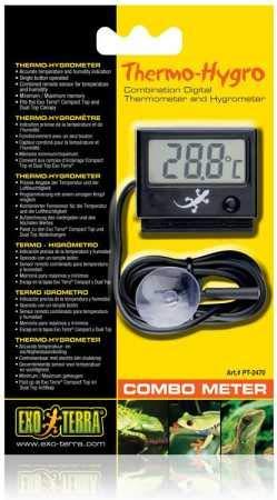 Exo Terra Digital Thermometer Hygrometer by Exo Terra