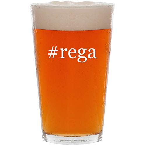 Price comparison product image #rega - 16oz Hashtag Pint Beer Glass