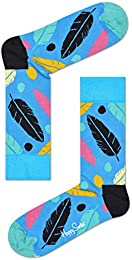 Low Price Unisex Feather Crew Socks One Pair