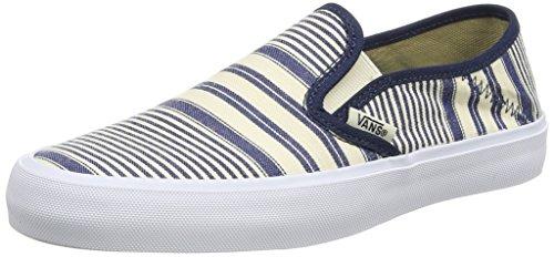 Vans Herren Slip-On SF Mehrfarbig (multi Stripe/dress Blues)