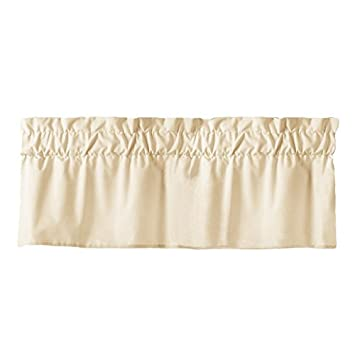 rod curtain pocket flat wide valance rods