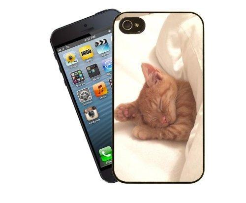 Eclipse idées cadeau mignon chaton Roux–Cadeau idéal pour un amateur chat–Housse pour Iphone 5/5s cas