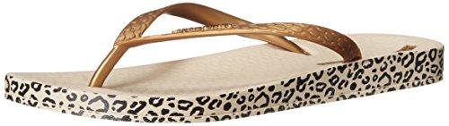 Ipanema Women's Ana Soft Flip-Flop Beige/Gold ueuJ0P