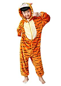 Ddwolf Kids Tigger Pajamas Halloween Costume