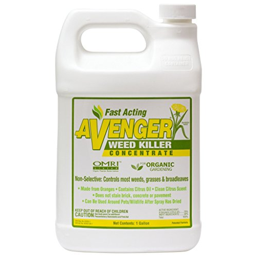 Nature's Avenger Organic Weed Killer Concentrate, 1 gallon by Nature's Avenger