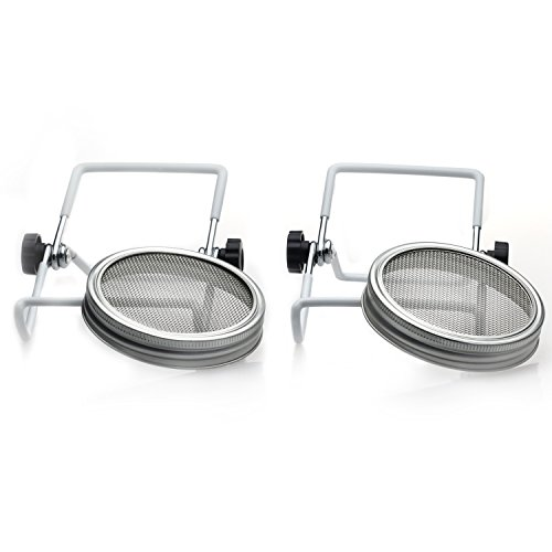 GAINWELL Stainless Steel Sprouting Kit - 2 Set