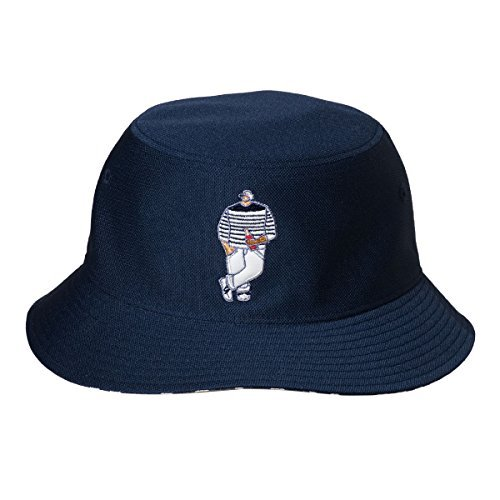 Cova SINACOVA 18177760 Men's Reversible Bucket Hat Navy One-Size