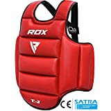 RDX TKD Chest Guard Boxing MMA Body Protector Martial Arts WTF Reversible Rib Shield Armour Taekwondo Training