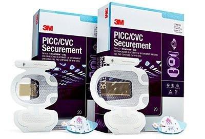 3M 37-2100K01 PICC/CVC Securement System, Includes Tegaderm I.V. Advanced Dressing (SKU # 1837), Cavilon No Sting Barrier Film (SKU # 3343K)