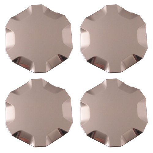 Set of 4 Replacement Aftermarket Center Caps Hub Cover Fits 18x8 Inch Alloy Wheel - Part Number: IWCC5313