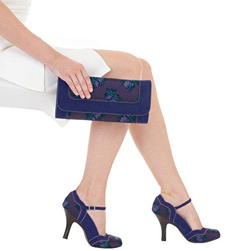 Shoo Chaussures Bleu Imogen Blue Femme Ruby dtqvw8d