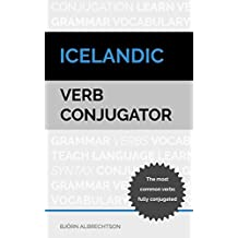 Icelandic Verb Conjugator: The most common verbs fully conjugated