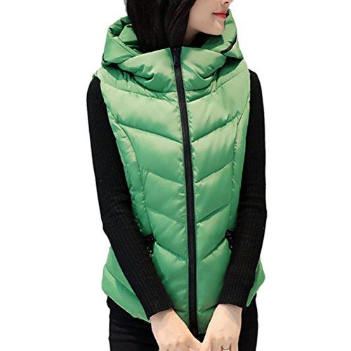 写真ローブバングZhhlinyuan Winter Short Style Down Vest Female Korean Style Clip Hood ファッション 美しい for Ladiess