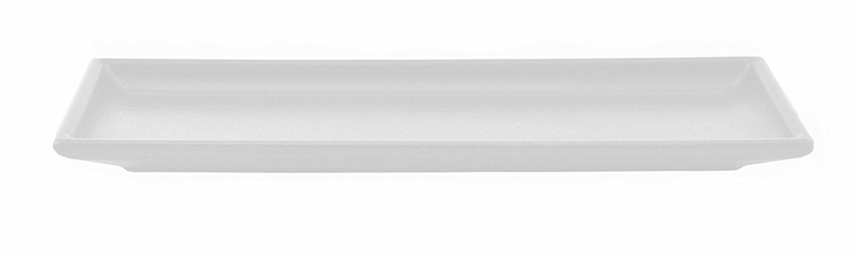 Deko Kerzentablett Kerzenschale Holztablett Schwarz Weiss 345x13cm 5x13cm
