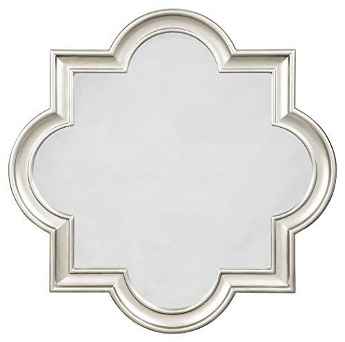 Signature Design by Ashley - Desma Quatrefoil Framed Wall Mirror - Traditional - Morrocan Mirrors For Bathroom