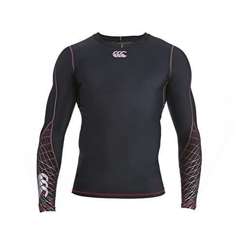 Canterbury Mercury TCR Compression Long Sleeve Top - Large - Black
