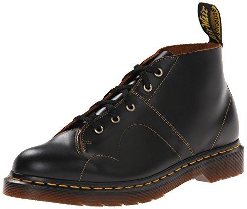 Dr. Martens Men's Church Vintage Smooth Chukka Boot, black, 10 UK/11 M US (Church Monkey Boot)
