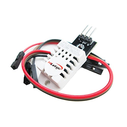 Price comparison product image HiLetgo DHT22/AM2302 Digital Temperature And Humidity Sensor Module Temperature Humidity Monitor Sensor Replace SHT11 SHT15 for Arduino Electronic Practice DIY