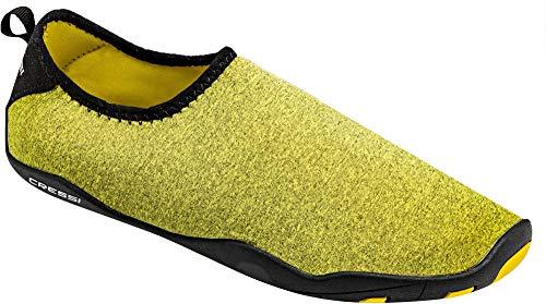 Cressi Scarpe Neoprene nero Giallo Per Unisex Shoes Lombok Aqua Acquatico Uso Sportive In rqC1wrO