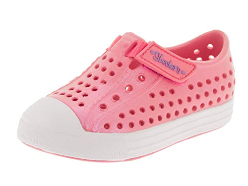 - Skechers Girl's, Guzman 2.0 Puddle Star Slip on Shoes Pink 9 M