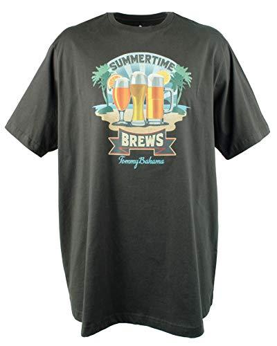 (Tommy Bahama Men's Big & Tall Summertime Brews UPF30 T-Shirt-C-2XL)