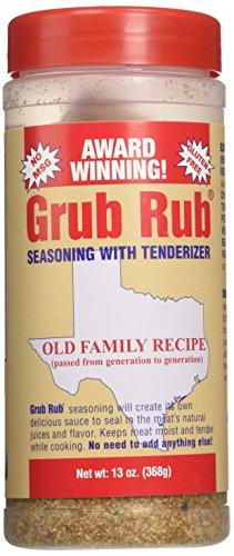 Gordon's Seasoning Grub Rub, 13-Ounce (Pack of 3) ()