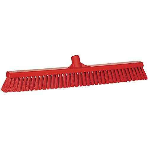VIKAN Red Wide Floor Broom Head