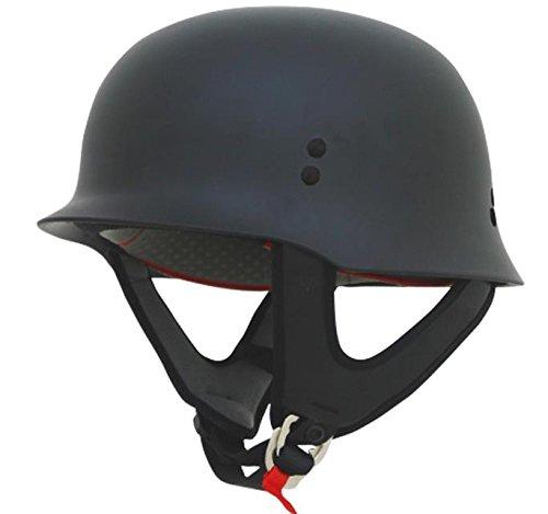 Street Helmet Flat - AFX FX-88 Solid Helmet , Distinct Name: Flat Black, Gender: Mens/Unisex, Helmet Category: Street, Helmet Type: Half Helmets, Primary Color: Black, Size: Md 0103-1066