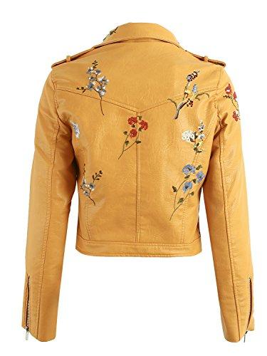 Revers Apparel Simplee Brod Floral Blouson Femmes qtvAZ7z