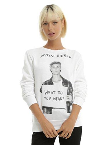 Justin Bieber What Do You Mean Girls Sweatshirt