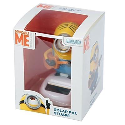Puckator Stuart Minions Solar Pal, Height 8.5cm Width 5.5cm Depth 6cm, Mixed: Home & Kitchen