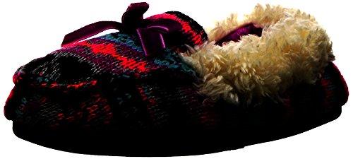 Picture of Dearfoams Kids' Patterned Sweater Knit Moc