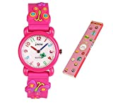 Little Girls Boys Children Watches 3D Waterproof Toddler Wrist Watches for 3-10 Year Old (Butterfly...