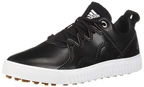 adidas Men's JR Adicross PPF Golf Shoe, core Black/Silver Metallic/Gum, 4.5 M US ()