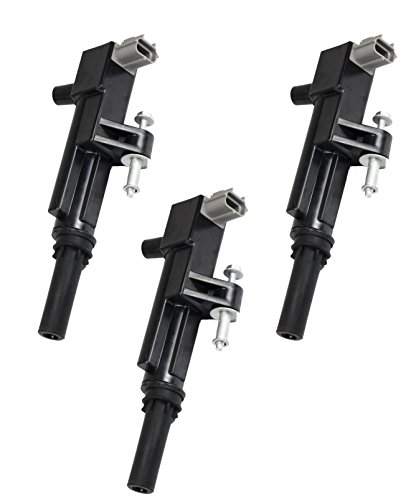 Pack of 3 Ignition Coils for 2009-2012 Dodge Ram 1500 Dakota Nitro Jeep Liberty Commander Grand Cherokee 3.7L V6 Compatible with 5149199AA C1652 UF640