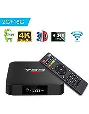 T95 S1 TV Box Androide 7.1 TV Box with Con Telecomando Amlogic S905W 2GB RAM 16GB ROM H.265 WiFi 4K HDMI Media Player