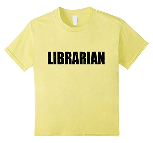 Kids Librarian Halloween Costume Party Cute & Funny T shirt 10 Lemon