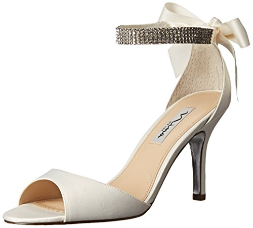 Nina Women's Vinnie LS Dress Pump, Ivory, 9 M - High Heel Guess Heels