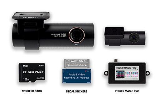 WYNT BlackVue DR900S-2CH + 128GB Micro SD Card + Power Magic Pro