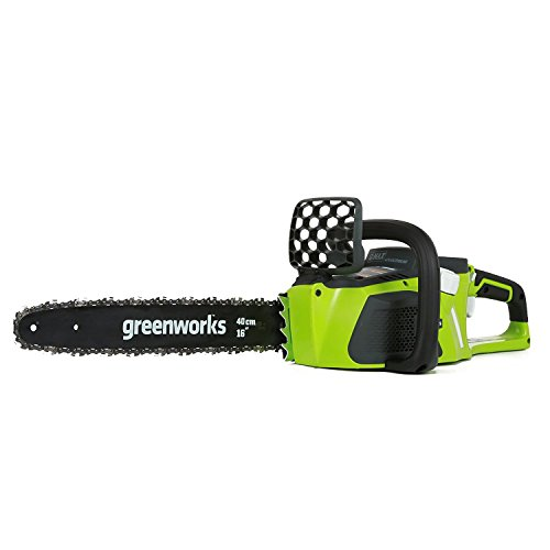 GreenWorks G-MAX 40V Lithium 16-inch DigiPro Brushless Chainsaw BARE TOOL, without battery by Sunrise GreenWorks
